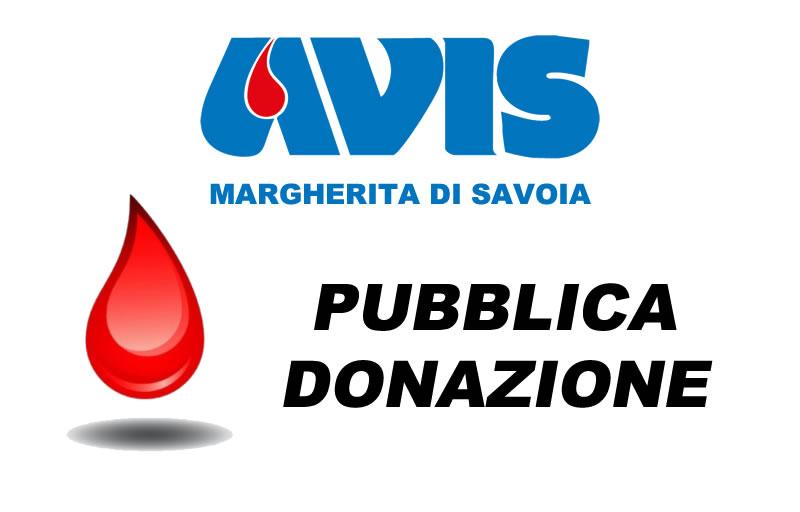 Pubblica donazione il 19 agosto 2018