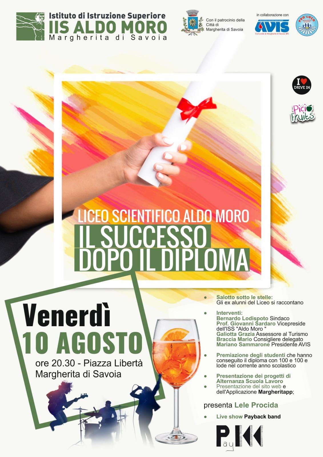 Il successo dopo il diploma